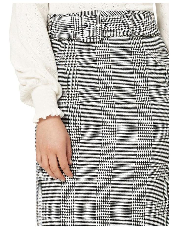 Annika Check Skirt image 4