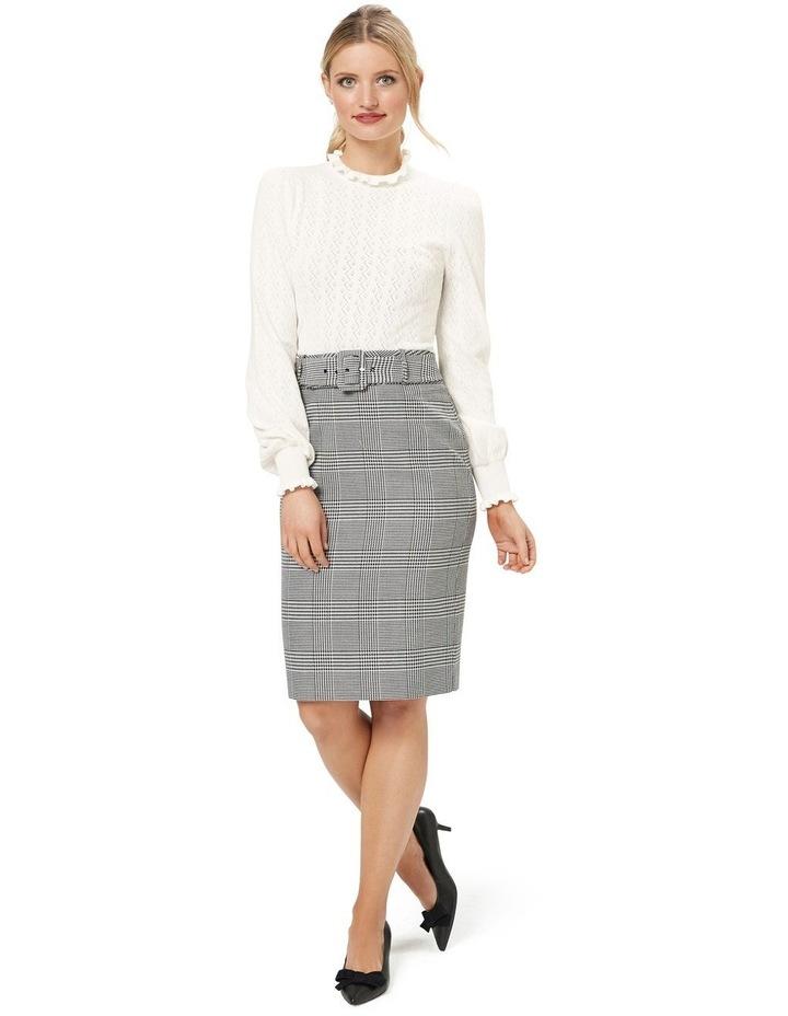 Annika Check Skirt image 5