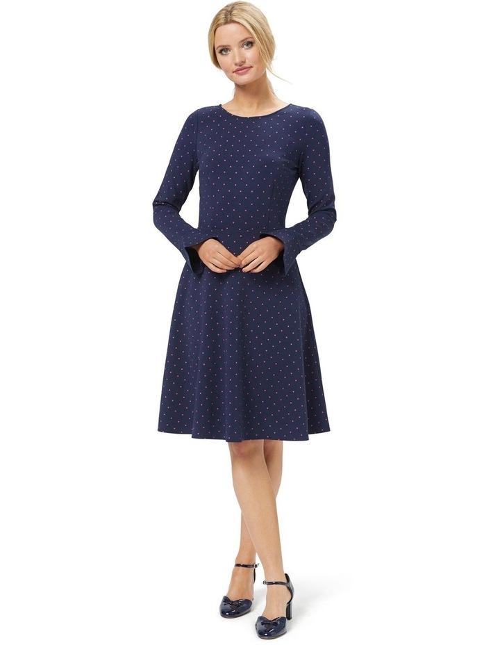 Lucy Spot Ponte Dress image 2