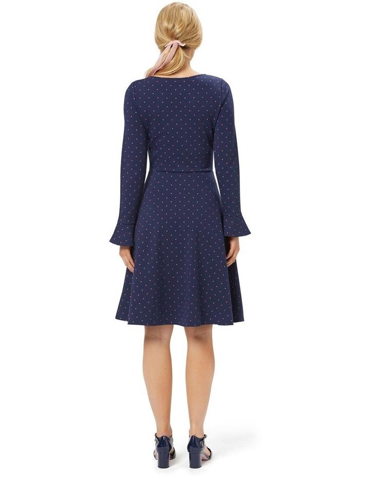 Lucy Spot Ponte Dress image 4
