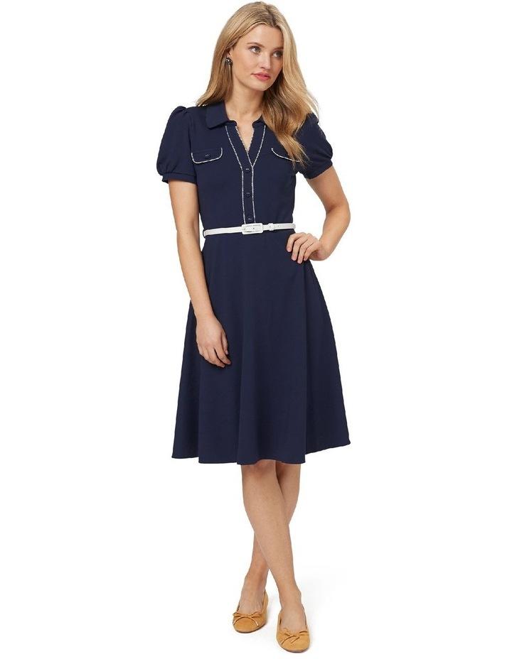 Admiral Ponte Shirt Dress image 1