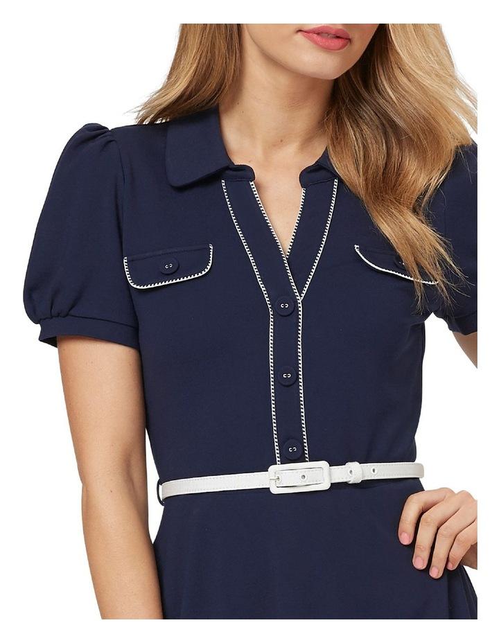 Admiral Ponte Shirt Dress image 2