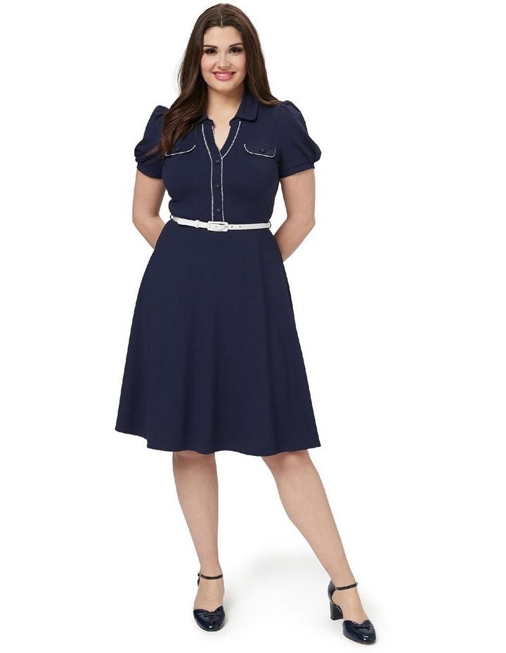 Admiral Ponte Shirt Dress image 3