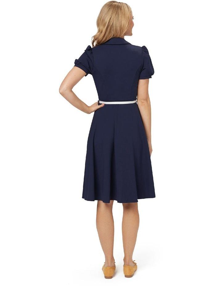 Admiral Ponte Shirt Dress image 4