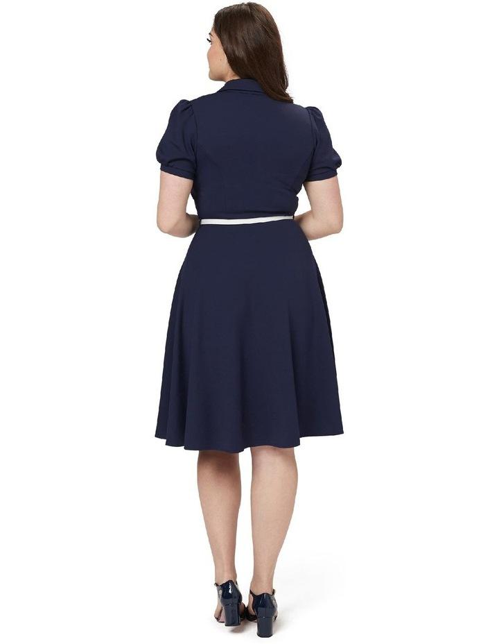 Admiral Ponte Shirt Dress image 5