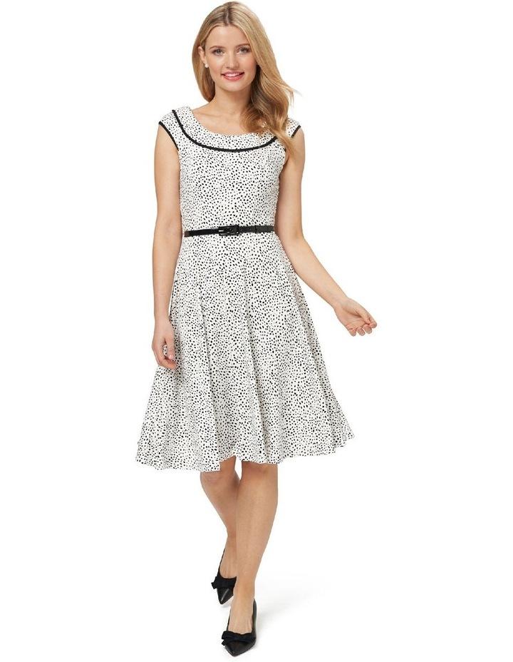 Aurelie Spot Jersey Dress image 1