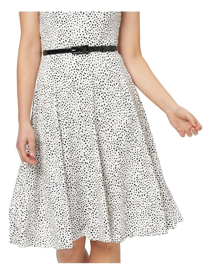 Aurelie Spot Jersey Dress image 2