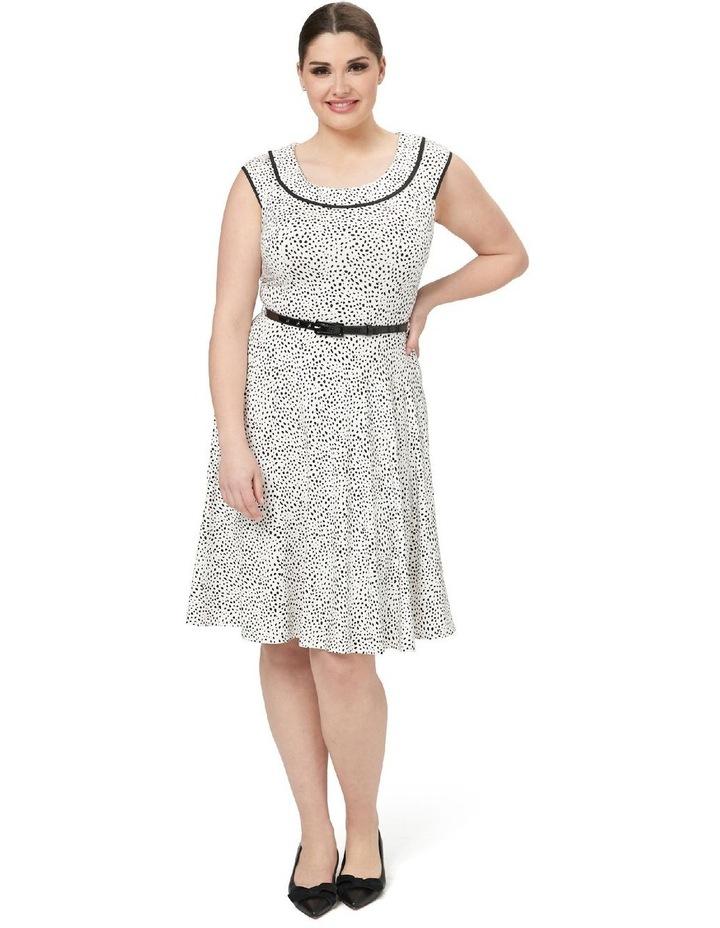 Aurelie Spot Jersey Dress image 3
