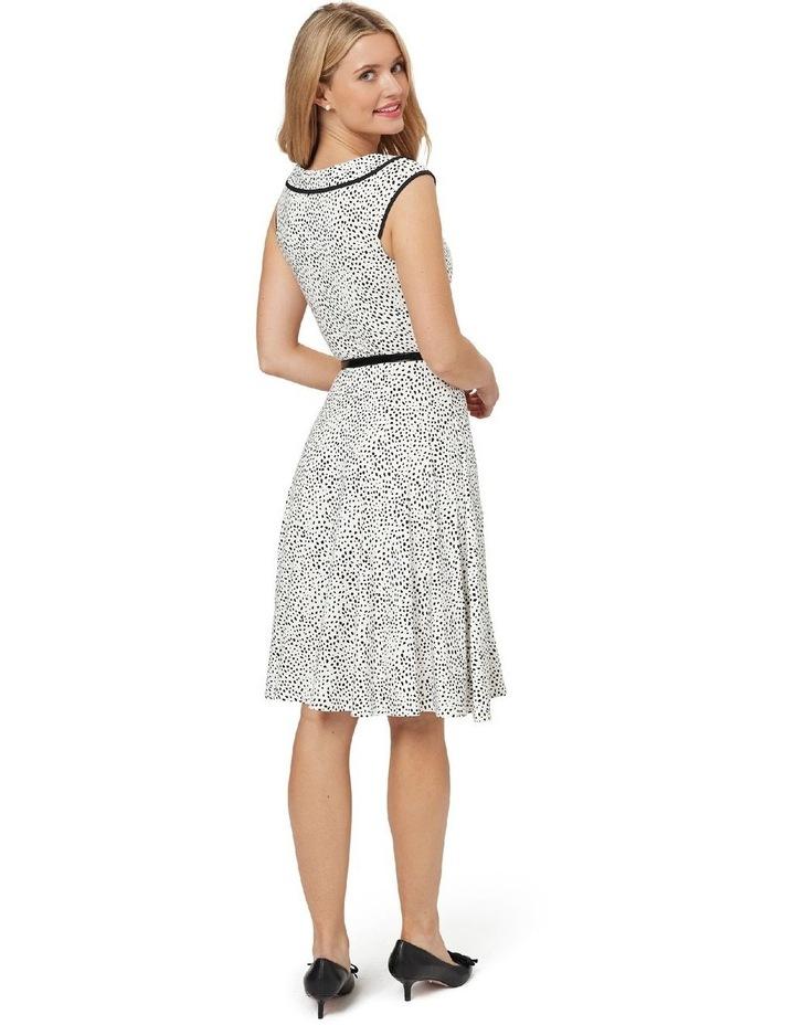 Aurelie Spot Jersey Dress image 4