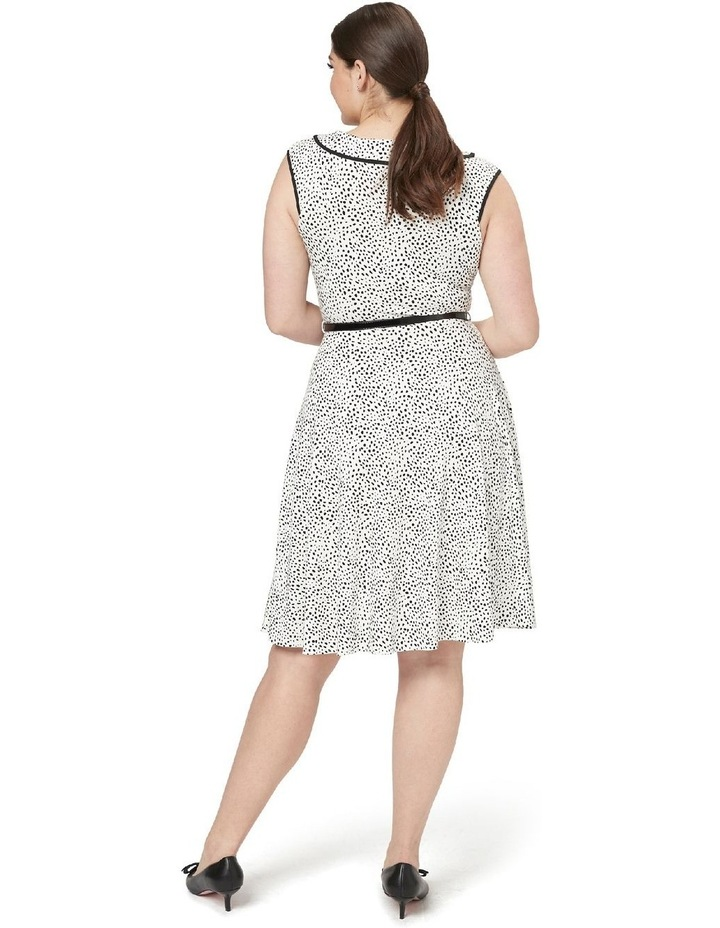 Aurelie Spot Jersey Dress image 5