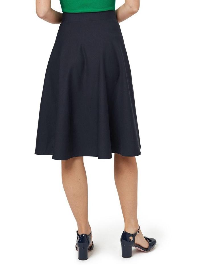 Taylor Skater Ponte Skirt image 3