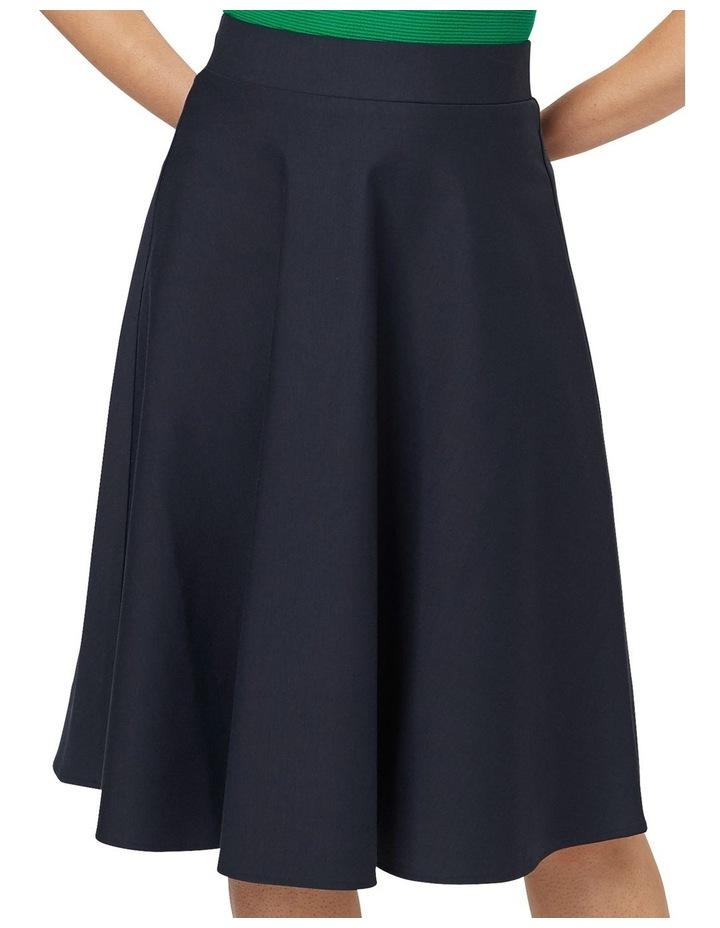 Taylor Skater Ponte Skirt image 5