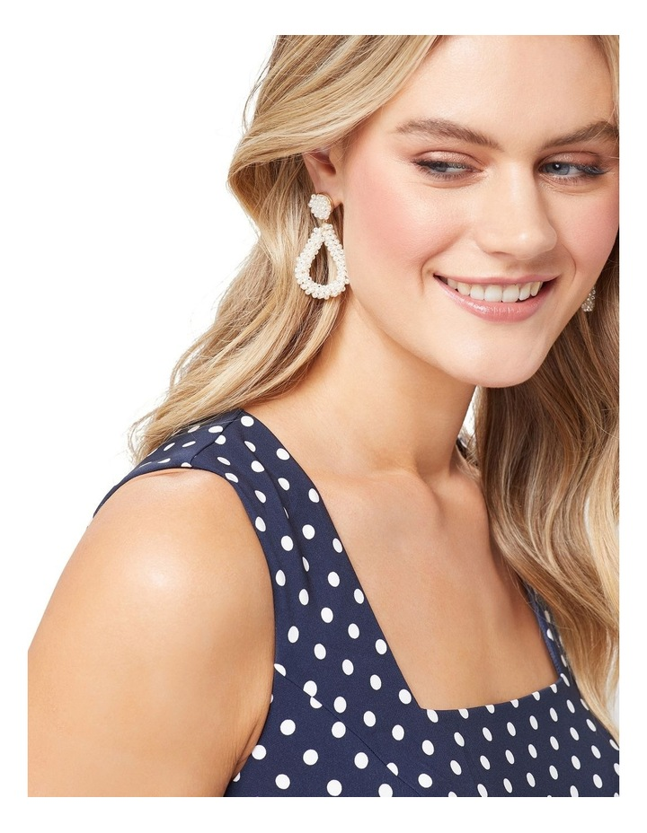 Nadia Pearl Earring image 3