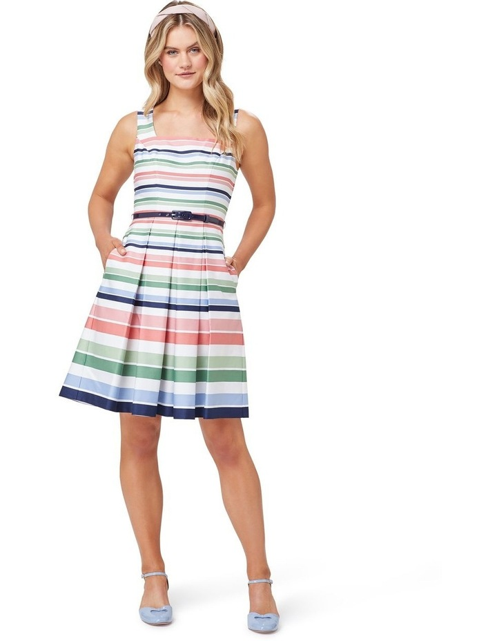 Razzle Stripe Dress image 1