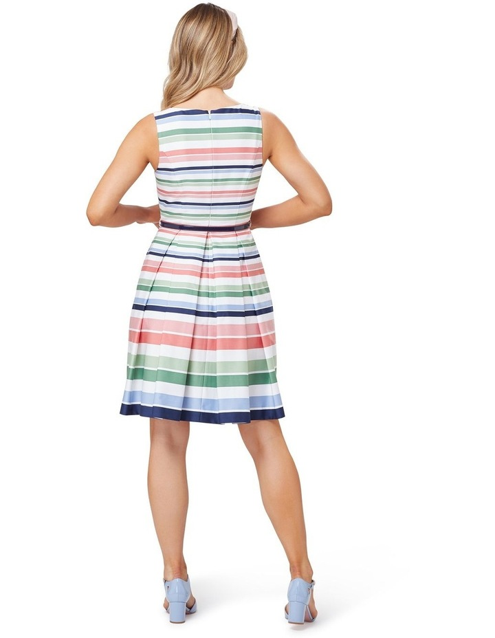 Razzle Stripe Dress image 2