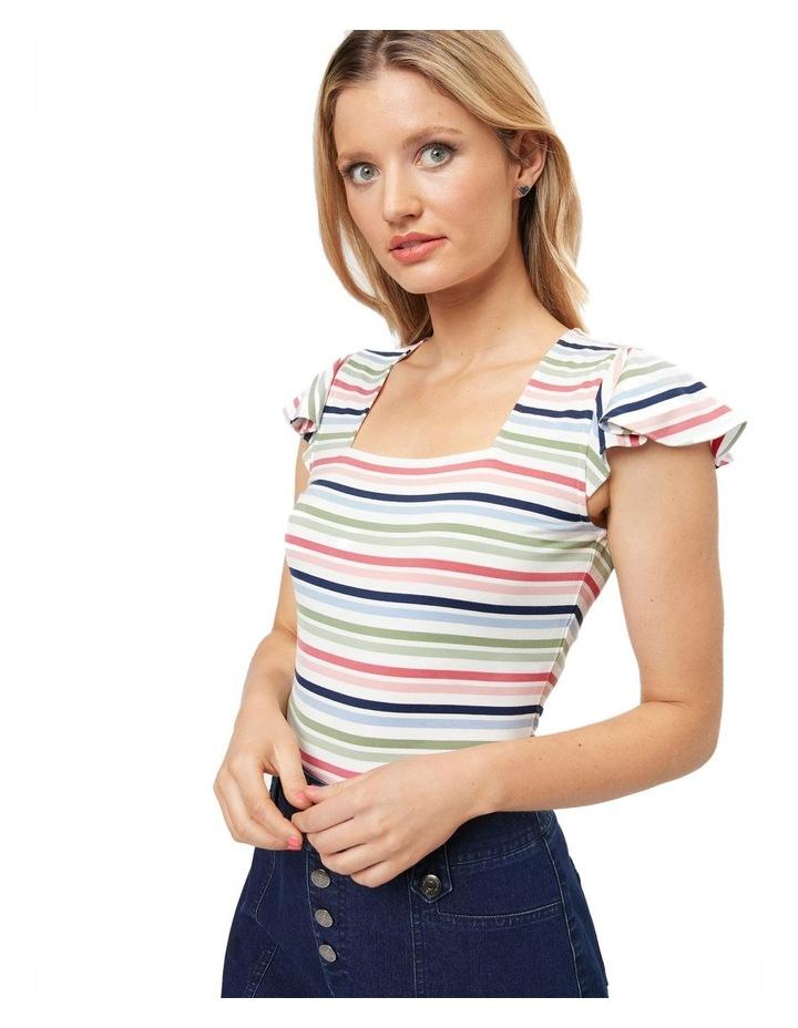 Razzle Stripe Top image 1