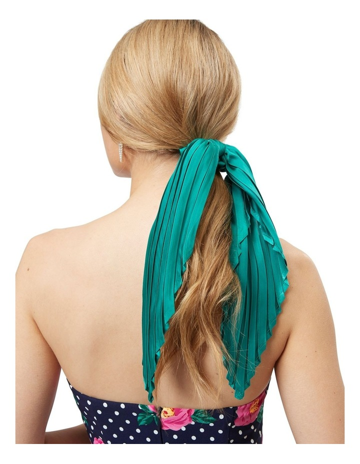 Pleated Scrunchie Scarf image 3