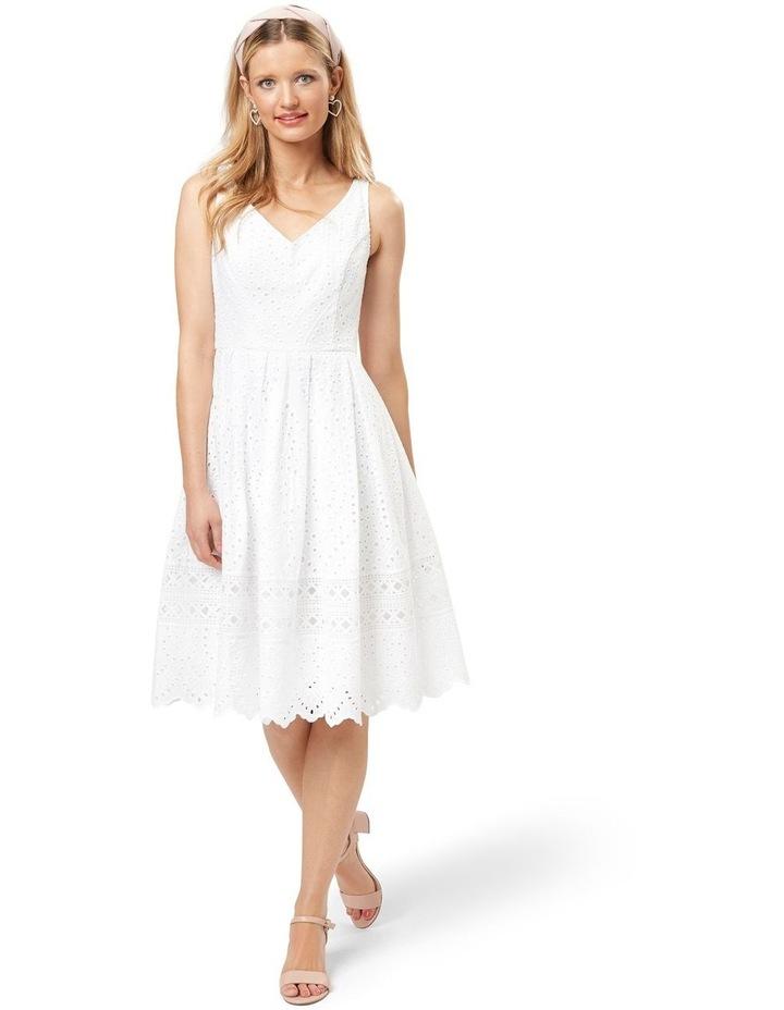 White Dahlia Dress image 1