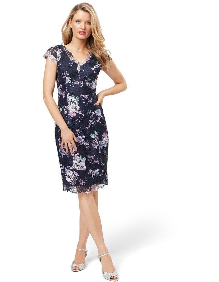 Violet Blossom Lace Dress image 1