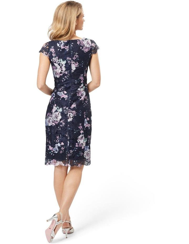 Violet Blossom Lace Dress image 2