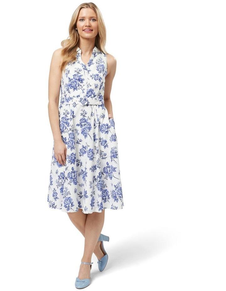 Blue Willow Shirt Dress image 1