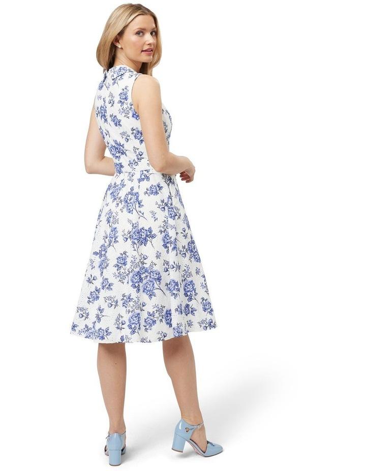Blue Willow Shirt Dress image 2