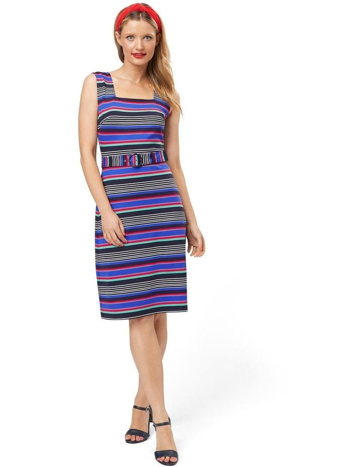 Sicily Stripe Jersey Dress image 1