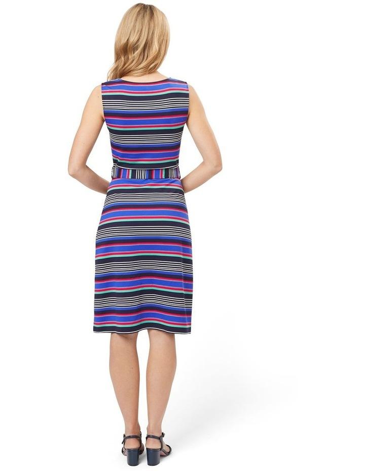 Sicily Stripe Jersey Dress image 2