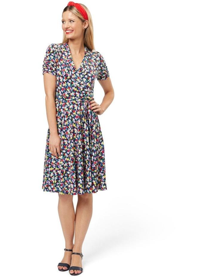 Chiara Floral Jersey Dress image 1