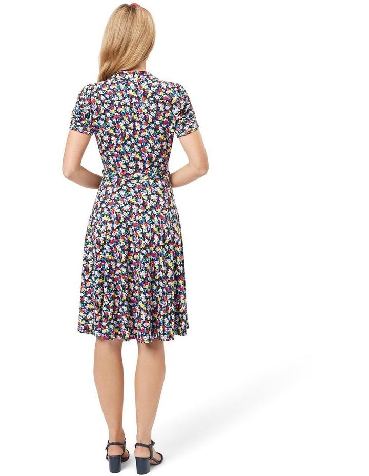 Chiara Floral Jersey Dress image 2