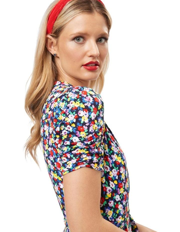 Chiara Floral Jersey Dress image 3