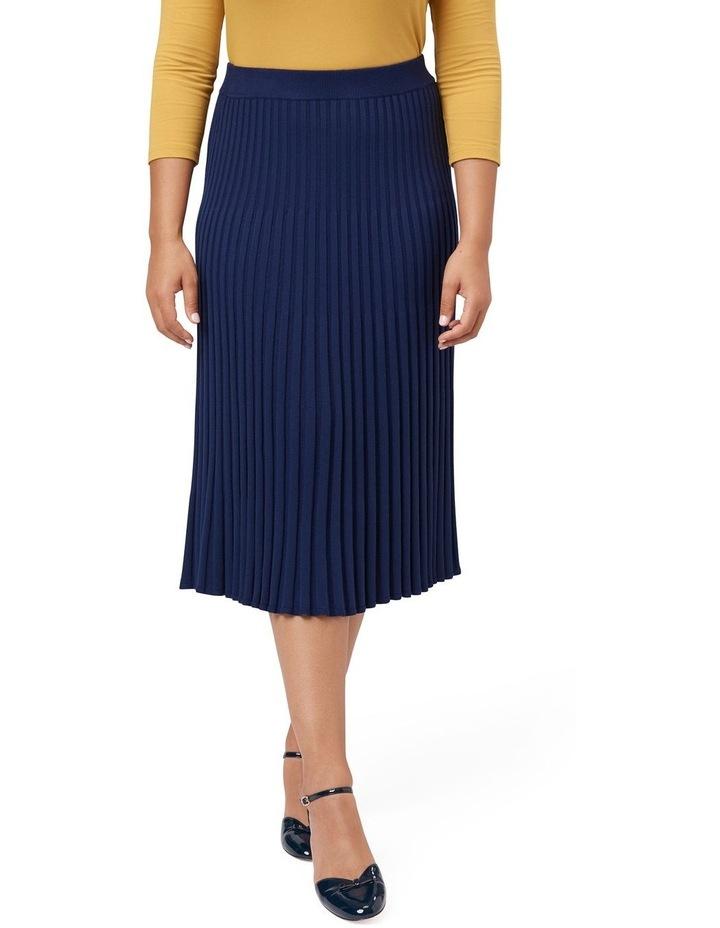 Midi Rib Skirt image 3