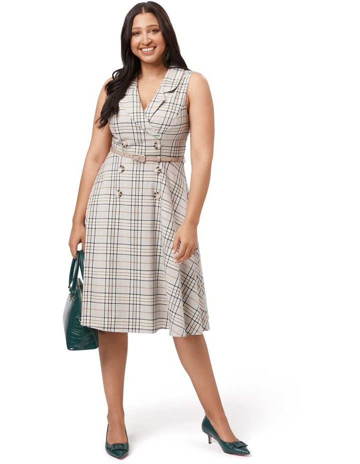 Neve Check Dress image 4