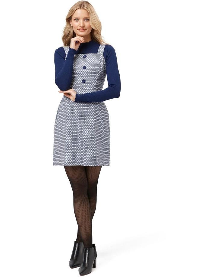 Greta Geo Pinny Dress image 1