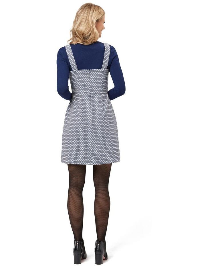 Greta Geo Pinny Dress image 2