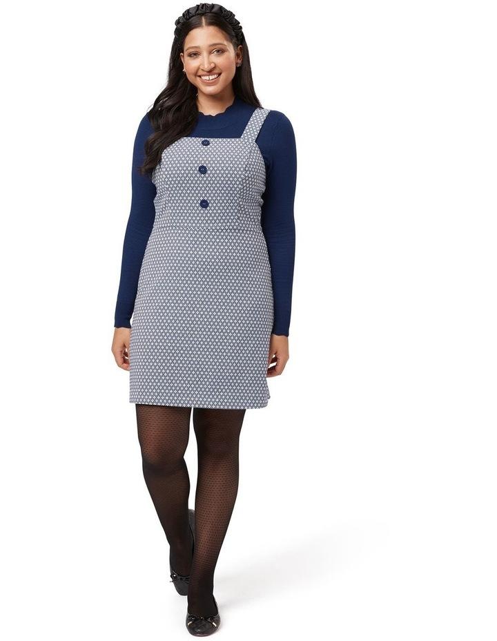 Greta Geo Pinny Dress image 4