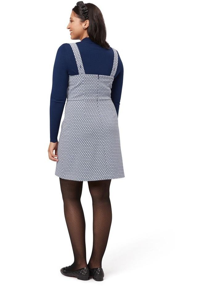 Greta Geo Pinny Dress image 5
