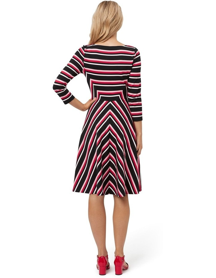 Sophia Stripe Ponte Dress image 2