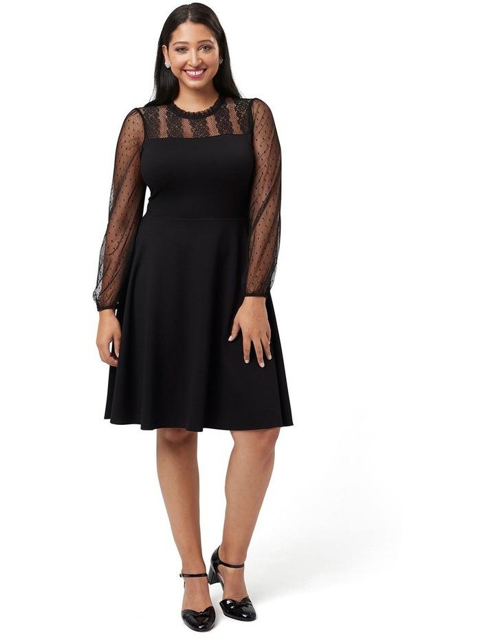 Dixie Ponte Dress image 4