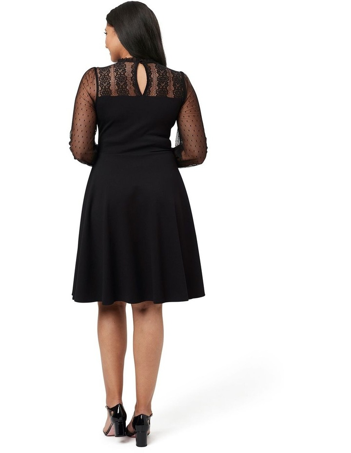 Dixie Ponte Dress image 5