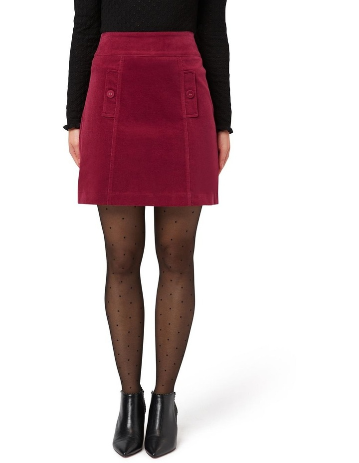 Cord Mini Skirt image 1