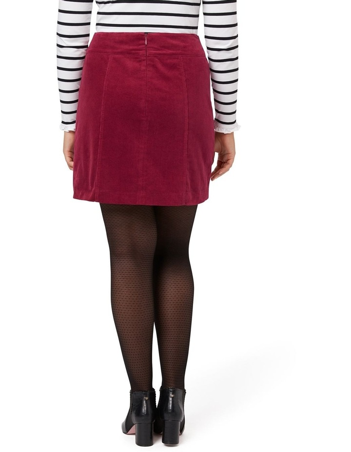 Cord Mini Skirt image 4