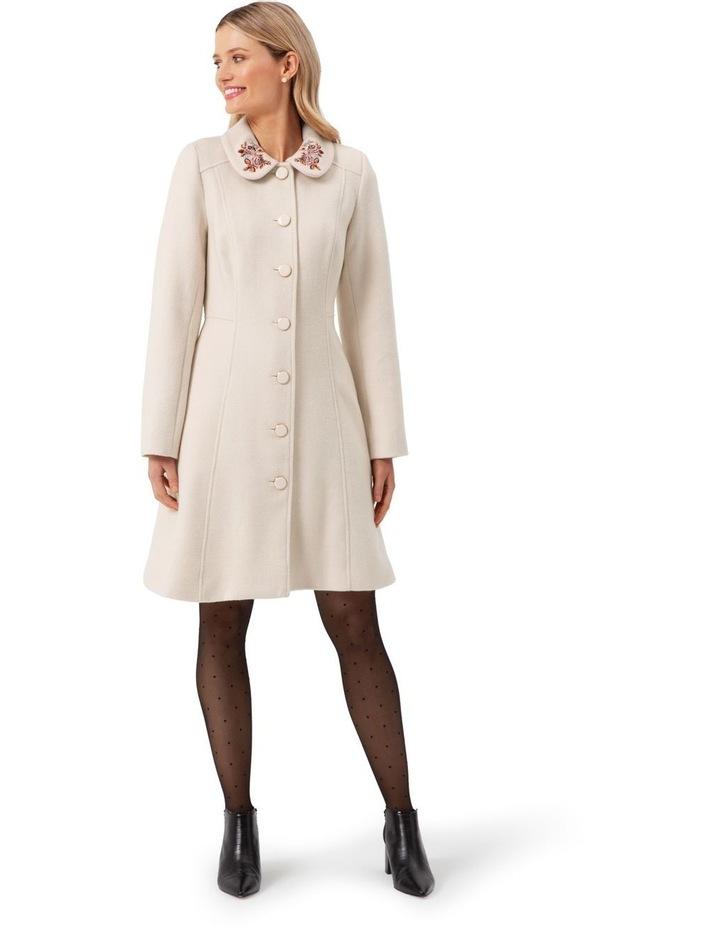 Elle Embroidered Coat image 1