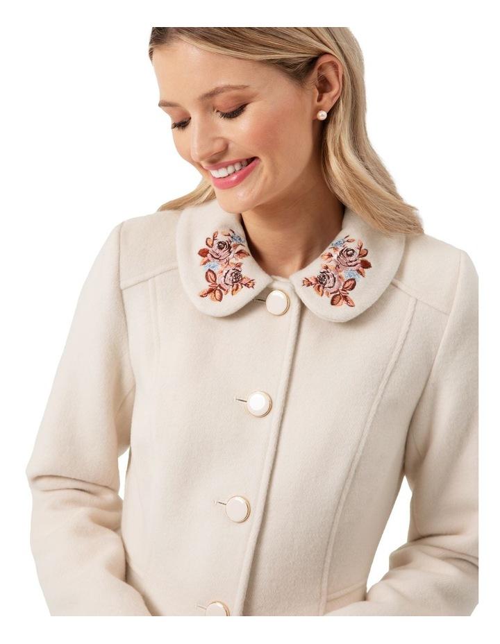 Elle Embroidered Coat image 3