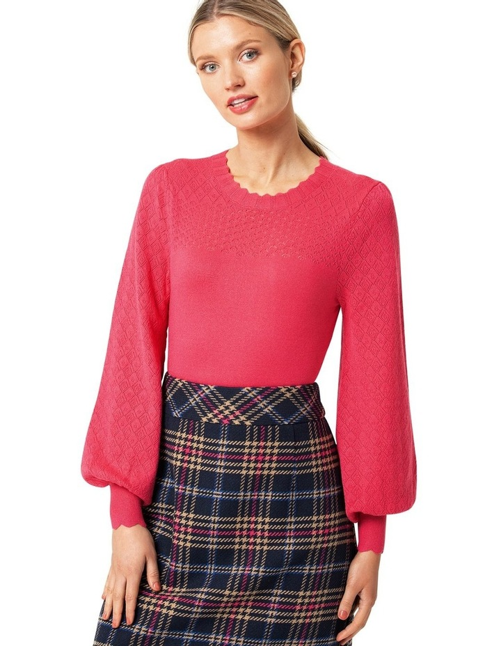 Carly Pointelle Jumper image 1