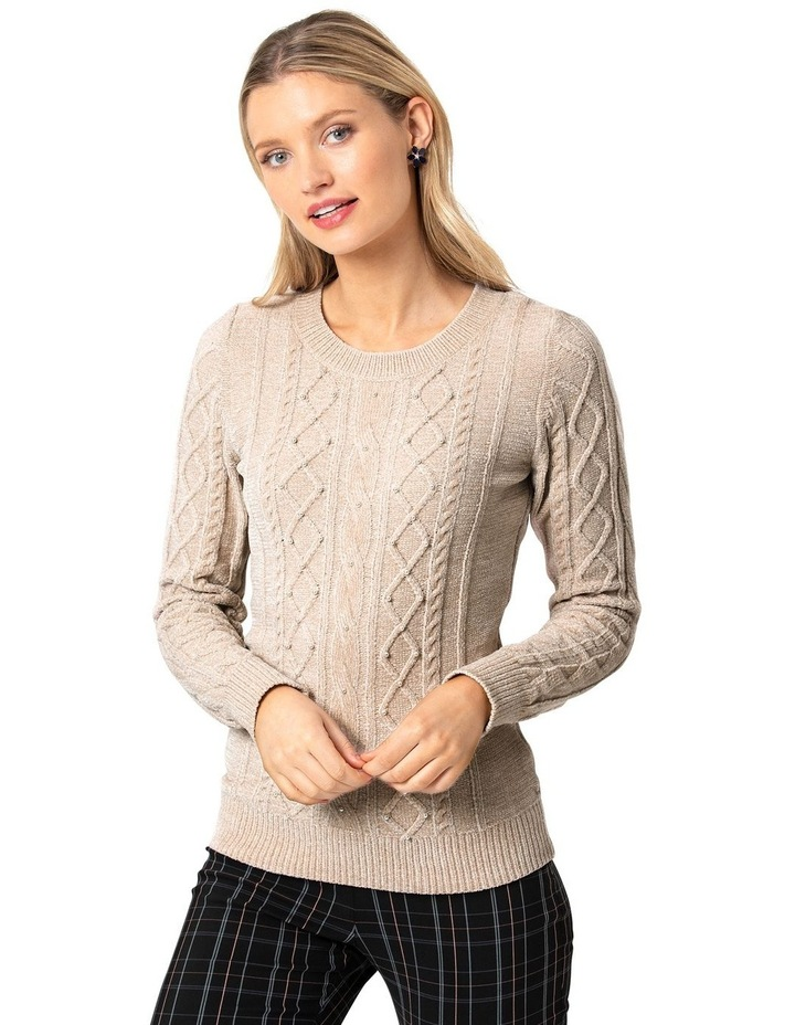 Claudine Cable Jumper image 1