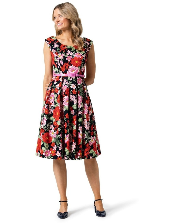 Admiral Floral Prom Dress image 1