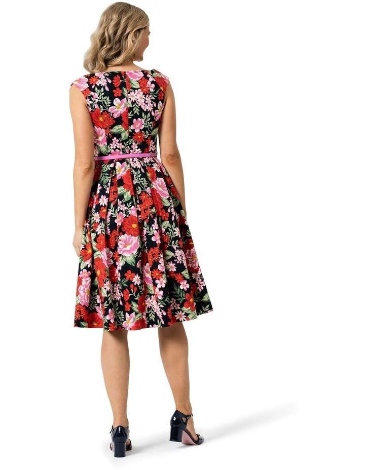 Admiral Floral Prom Dress image 2