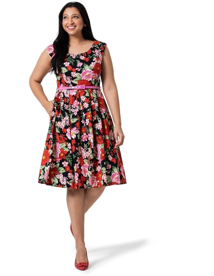 Admiral Floral Prom Dress image 3