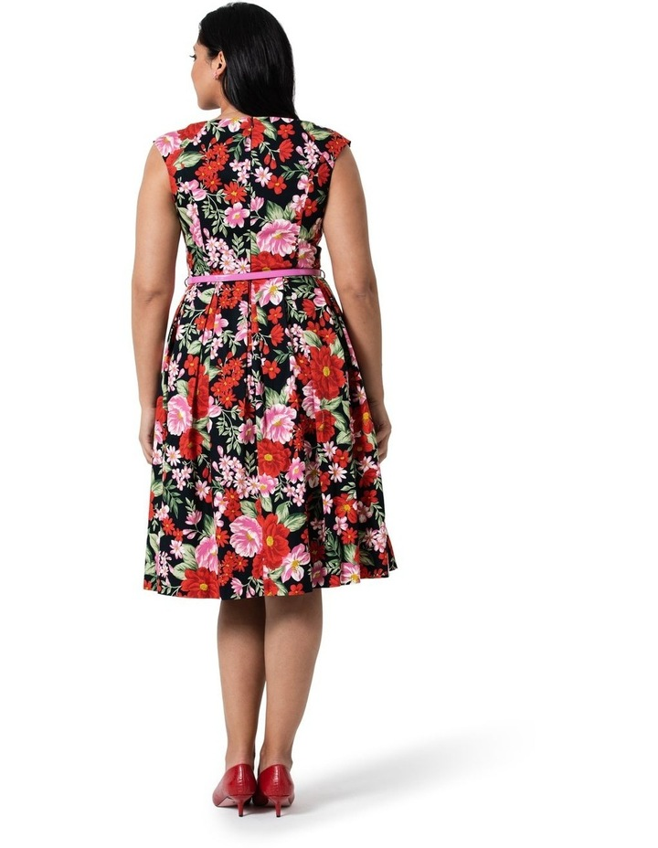 Admiral Floral Prom Dress image 4